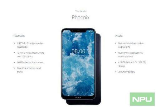 Nokia 8.1 marketing images 2