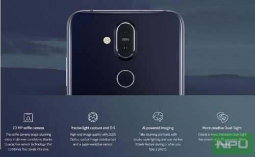 Nokia 8.1 marketing images