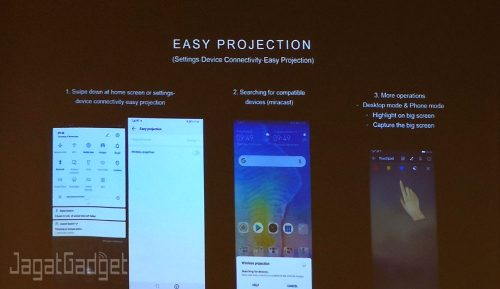 Easy projection EMUI