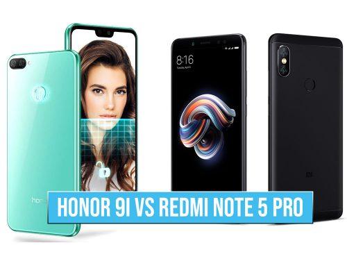 HOnor 9i vs REdmi note 5