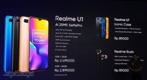 Price Realme U1