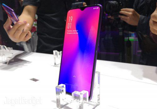 Oppo R17 Pro Screen Fingerprint