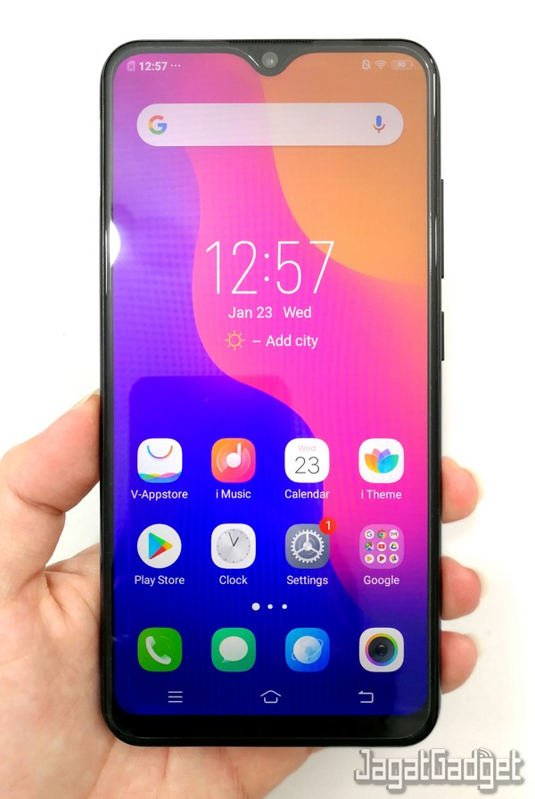 Review Smartphone Android Vivo Y91 Jagat Gadget
