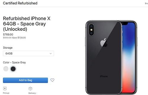 Apple Menjual iPhone X Refurbished Resmi dengan Harga Lebih Murah 2