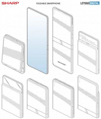 sharp foldable
