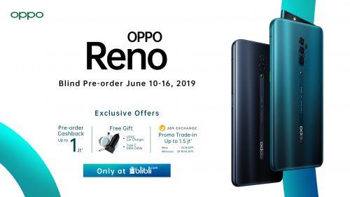 KV OPPO Reno Blind Sale
