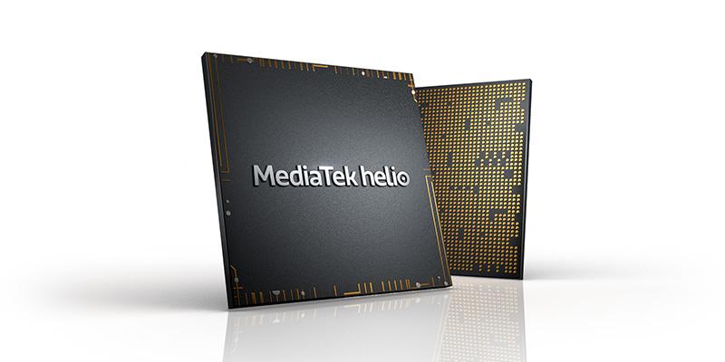 MediaTek Helio Tilted White