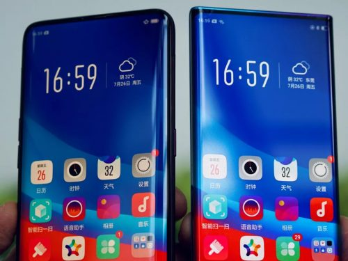 OPPO Waterfall Screen 8