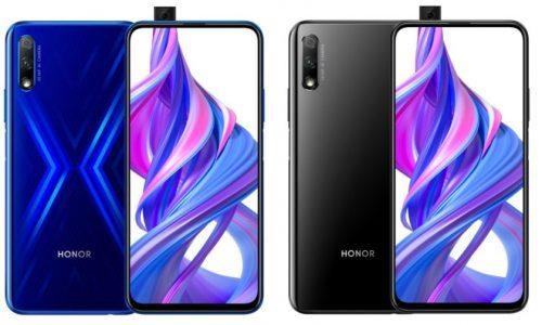 honor 9x pro smartphone side by side blue black 1 840x504