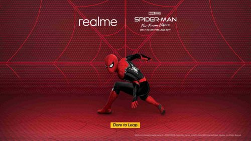 realme Spider Man Far From Home