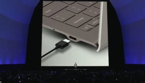 Galaxy Book S USB Type C