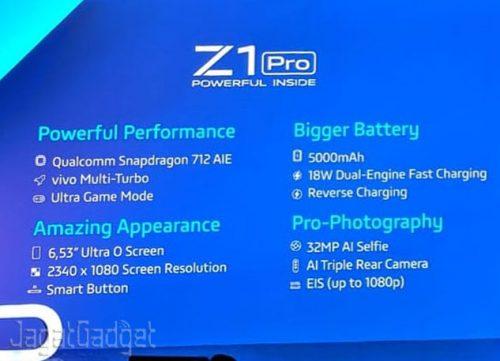 Harga Vivo Z1 Pro