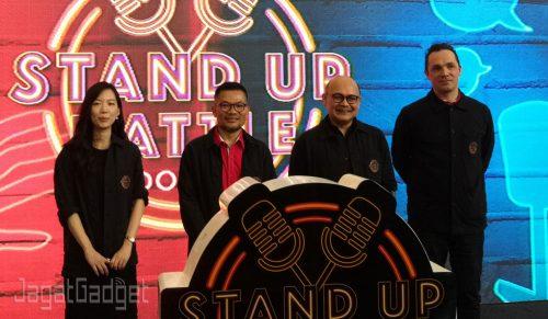 Standup battle HOOQ Telkomsel