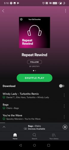 androidpolice repeat rewind