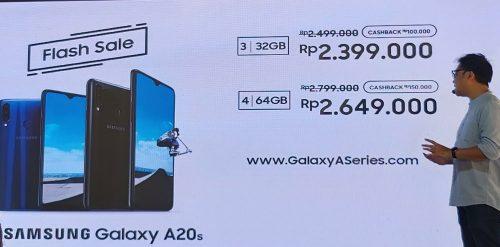 Galaxy A20s harga