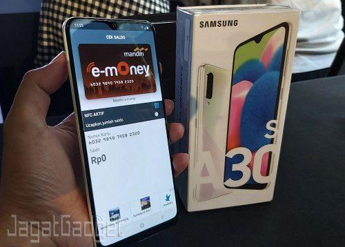 Galaxy A30s NFC