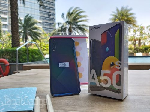 Unboxing Galaxy A50s