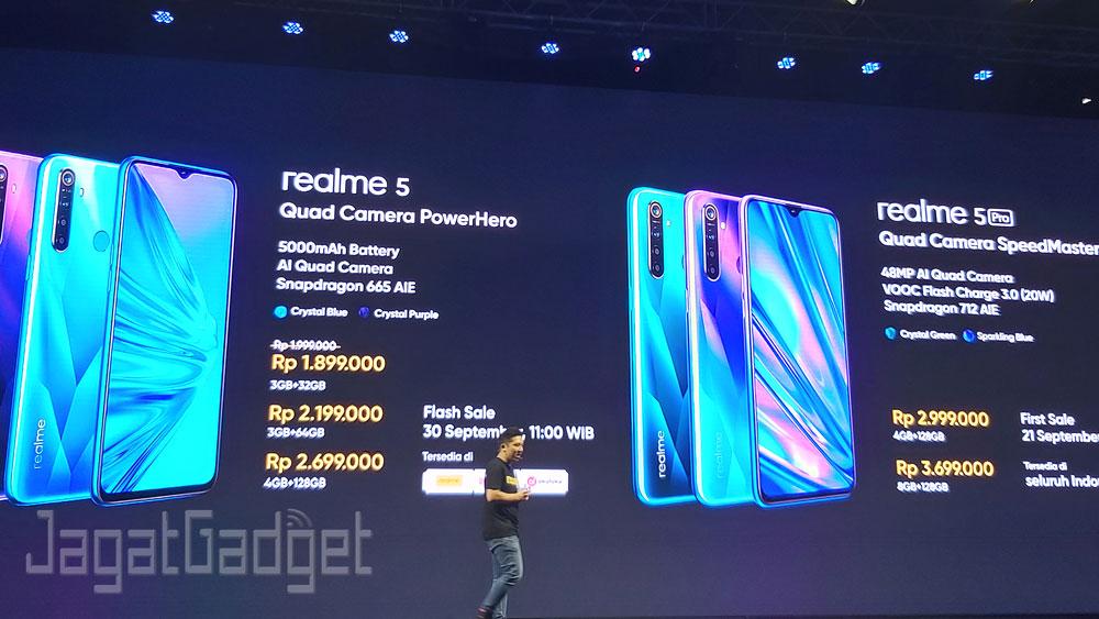 Realme 5 Dan Realme 5 Pro Resmi Hadir Di Indonesia Ini Harga Dan Spesifikasinya Jagat Gadget