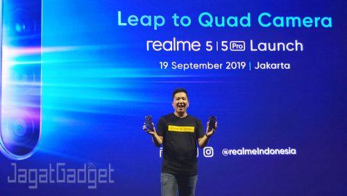 realme 5 launching