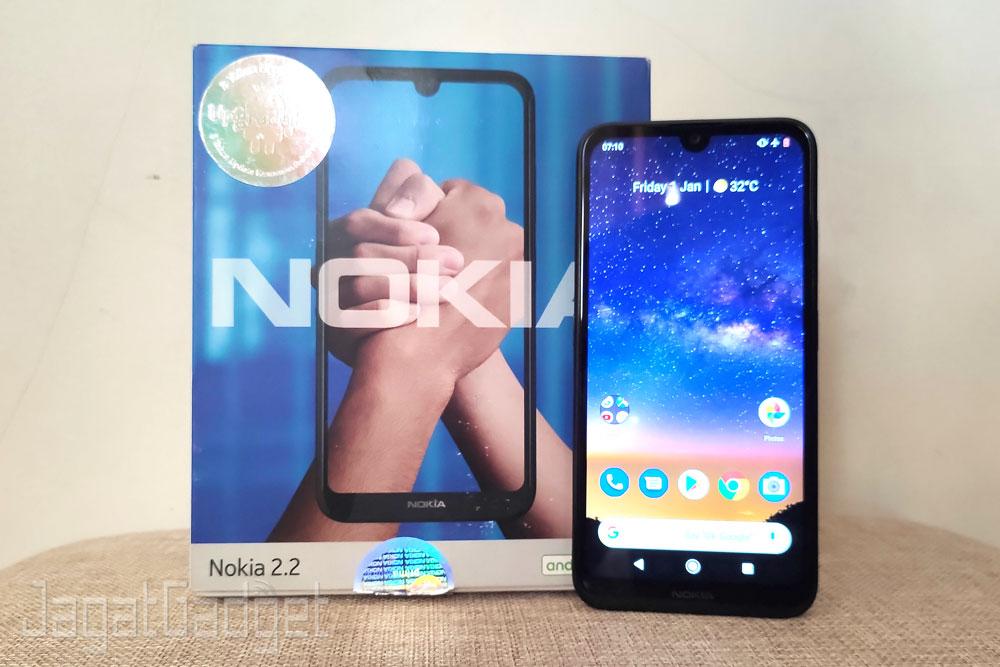10 Nokia 2.2