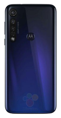 Moto G8 Plus back