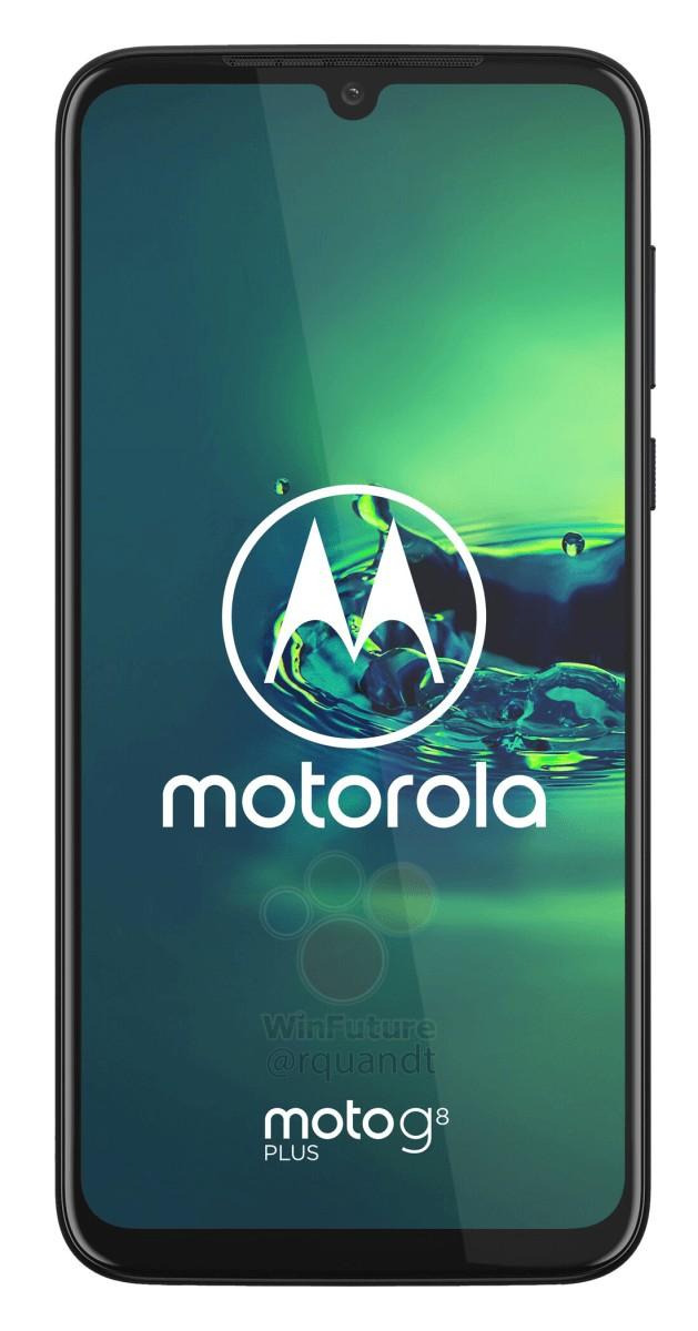 Moto G8 Plus front