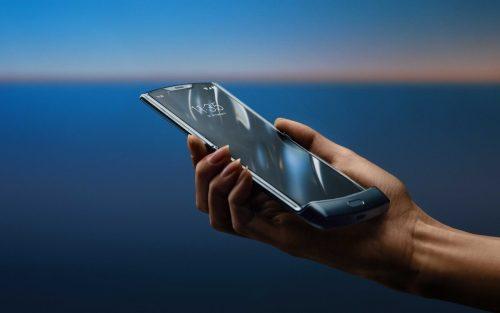 Motorola Razr clamshell