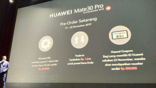 Pre Order Mate 30 Pro