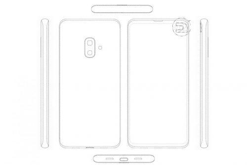 Samsung Galaxy S10 Lite design patent