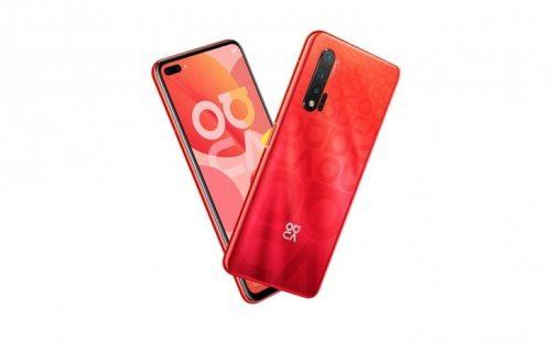 huawei nova 6 leaked red