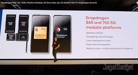 Hari pertama Snapdragon Tech Summit 2019