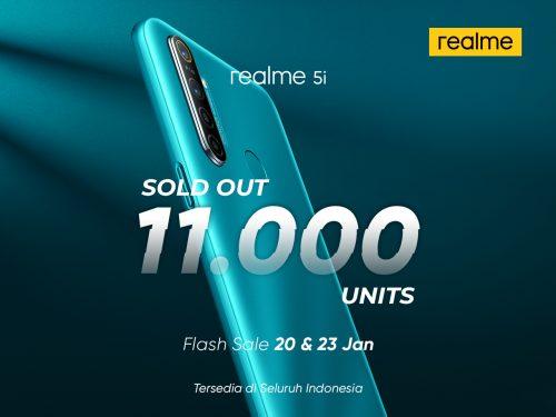 realme 5i 2nd flash sale
