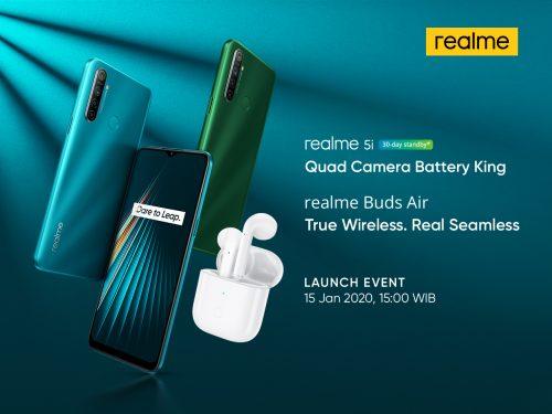 realme 5i Quad Camera Battery King