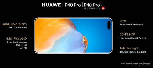 huawei p40 pro and pro plus