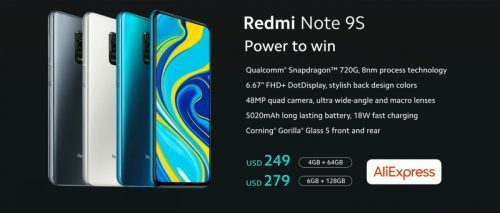 redmi note 9S price