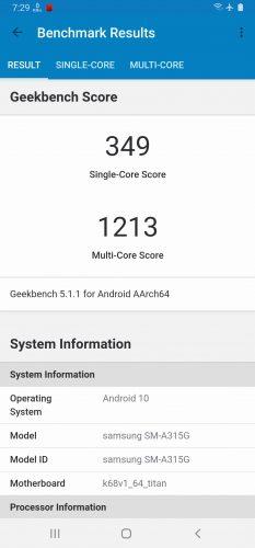 Screenshot 20200512 192951 Geekbench 5