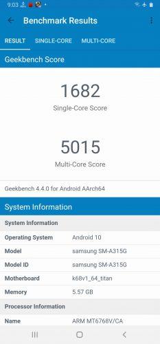 Screenshot 20200512 210356 Geekbench 4