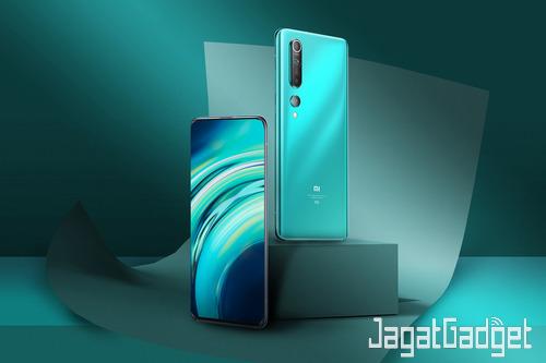 2. Xiaomi Mi 10 Varian Warna Coral Green artikel