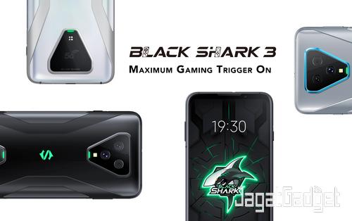Black Shark 3 KV indo white