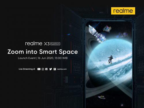 realme X3 SuperZoom Launch KV