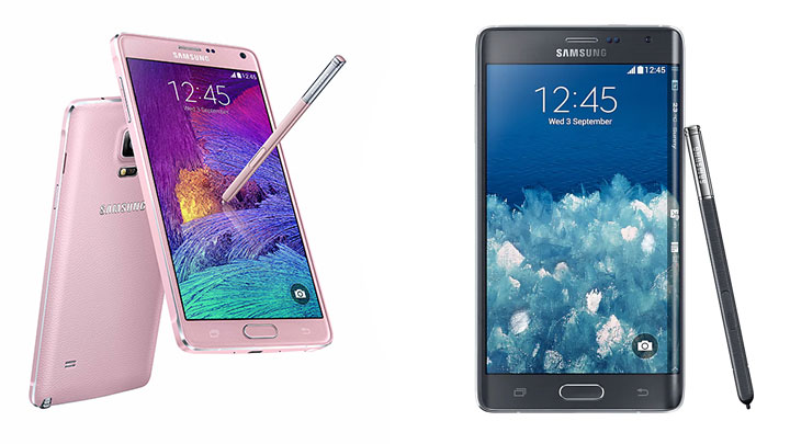 Galaxy Note4 Galaxy Note Edge 02