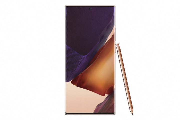 Galaxy Note20 Ultra Front Mystic Bronze