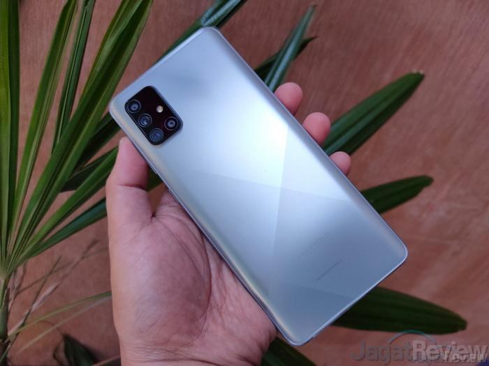 Review Single Take Galaxy A71 1