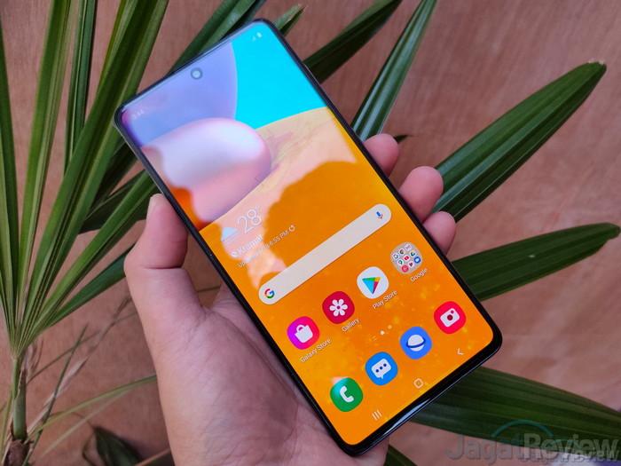 Review Single Take Galaxy A71 5