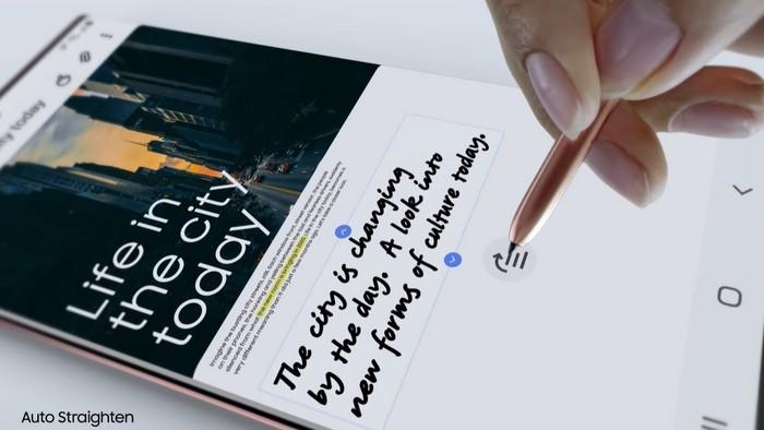 Fitur Pendukung Produktivitas di Galaxy Note20 Series