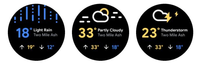 WearOS Weather