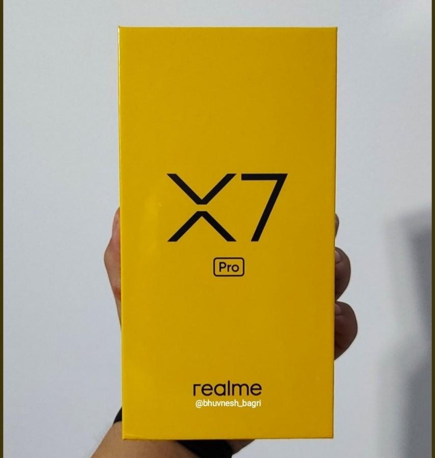 spesifikasi realme X 7