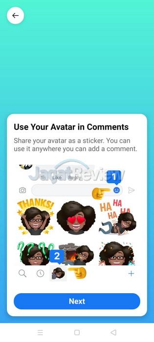 Cara membuat Avatar fi Facebook 5