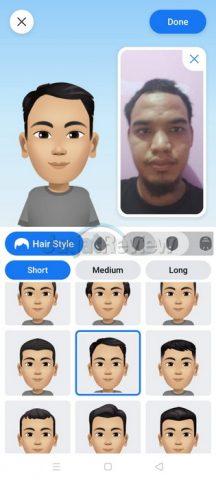 Cara membuat avatar facebook