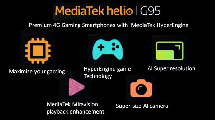 perbedaan Helio G95 dan G90T